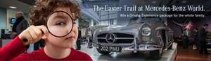Mercedes-Benz World free days out during Half Term/ Easter, Weybridge, Surrey