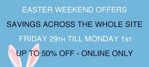 Pritchards Designer Menswear Easter Sale - Everything Reduced