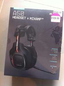 Astro A50 Gaming Headset + MixAmp £129.99 RRP £249.99