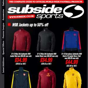 Nike N98 Jackets from £34.99 @ Subside Sports