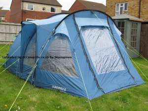 OUTWELL MONTREAL 400 4 PERSON  TUNNEL TENT. RRP £249.00 NOW  £73.94  DELIVERED ARGOS OUTLET EBAY.
