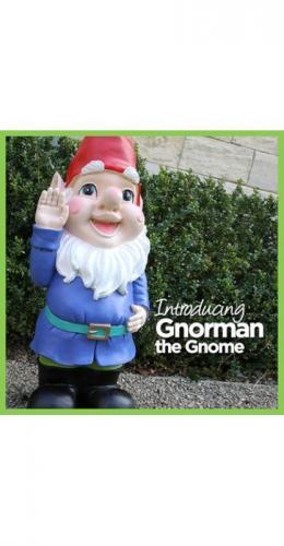 3ft garden gnome £25 Asda