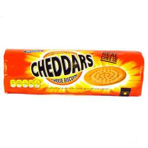 Mcvities cheddar biscuits 50p was 1.09. Asda