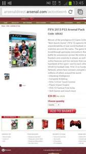 Fifa13 for £20 NEW PS3 XBox360 Wii @ arsenaldirect