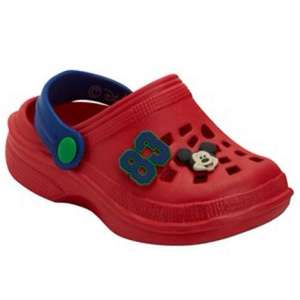 Mickey mouse & various Croc style shoes £4 @ matalan