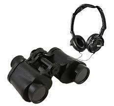 Vivitar Look & Listen 8x30 binoculars + headphones for £1.00 in store @ B&M
