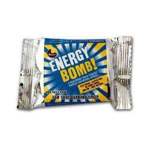 PULSIN ENERGY BOMB CHOC GUARANA 50 g (Pack of 18) £1.59 @ Amazon +Free delivery