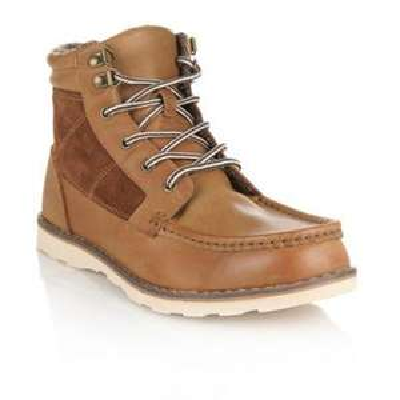 Tan Leather Walking Boots £24.00 @ Debenhams