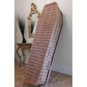 Premium Wicker Coffin 60% off, usually £380 - £155 @ Coffin Company