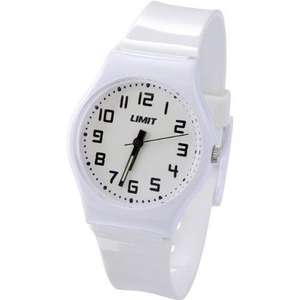 Limit Children's Quartz Watches,White,Black and Red Water Resistant Easy Read Dial follow down link page to view from same seller Delivered from £4.55 each @ Amazon Limit