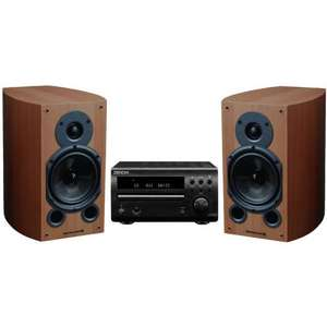 DENON DM39DAB MICRO SYSTEM (Silver) WITH WHARFEDALE DIAMOND 9.1 SPEAKERS £259 @ SUPERFI