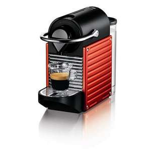 Krups Nespresso Pixie Coffee Machine - Electric Red (XN300640) - www.pots-and-pans.co.uk - £42.86 (RRP £139.99 - SAVE 69%) Free Delivery or Express Delivery £2 Extra (Oh and don't forget £40 Voucher from Nespresso)