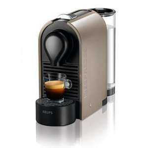 Nespresso U Pulse Coffee Machine - Taupe	 (XN250A40)  £36.74 and free delivery (£40 Voucher also available from Nespresso)