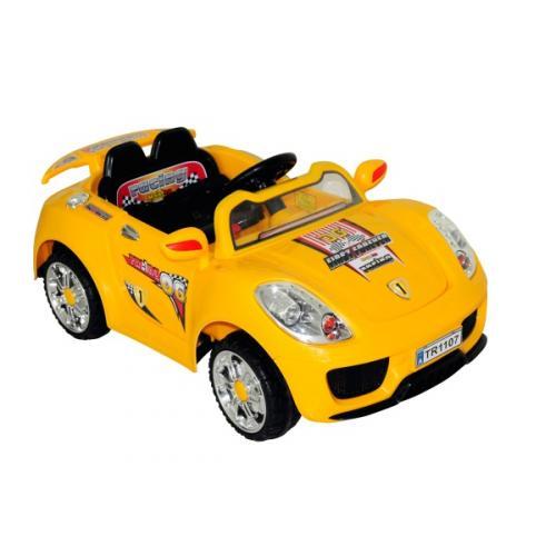Yellow 6V Sport Car - Smyths Toys - £79.99 - Online/Instore