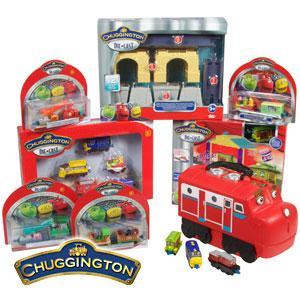 Chuggington Die Cast 38 Piece Mega Pack £37.92 (RRP £97.81) @ Home Bargains