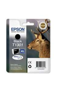 Epson Ink T1301 XL Ink Cartridge - Black £9.99 @ Asda Direct