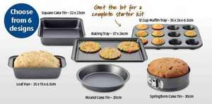 Various baking trays and tins £1.99 @ Aldi instore from 7th April