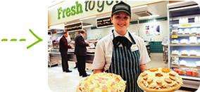 "Morrisons Prepared in Store Large Fresh Pizzas (14""!) - £2"