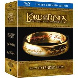 Lord of the Rings Extended Edition Blu-Ray Boxed Set - £29.99 fulfilled by amazon