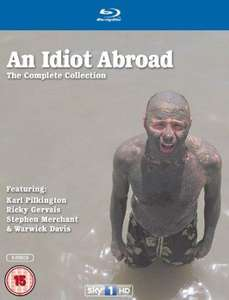 An Idiot Abroad - Series 1-3 Boxset [Blu-ray] £19 at Amazon