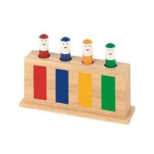 Galt Classic Wooden Pop Up Toy £5.32 delivered @ Amazon