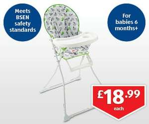 Unisex High Chair £18.99 @ Aldi