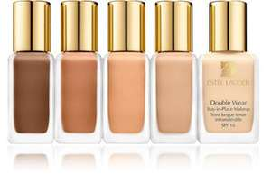 Free 4ml sample of Estee Lauder Double Wear Foundation