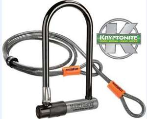 Kryptonite Series 2 D Lock With 4 Foot Cable @ Rutland Cycles - £19.99 + 3% Quidco / 3.03% TopCashBack