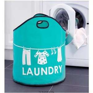 Laundry Bag - hard faric and large capacity £2.99 @ B&M