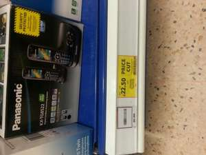 PANASONIC KX-TG8522 TWIN DECT PHONES £22.50 at Tesco