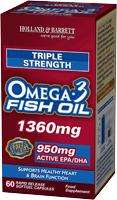Triple Strength Omega fish oils less than half price @ Holland & Barrett - £12.52