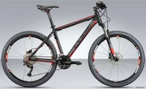 Cube 2012 Attention Hardtail MTB Bike inc FREE Delivery - Original price -£679.00 - £499 @ All Terrain Cycles