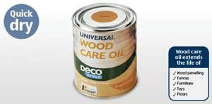 1 Litre Universal Wood Care Oil £3.99 @ Aldi from 11th April
