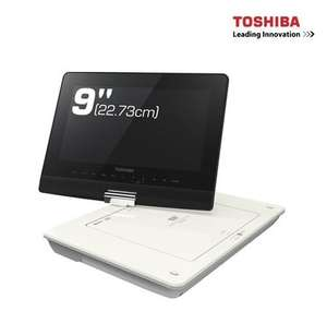 "Toshiba SDP97SWB 9"" Swivel Screen Portable DVD Player up to 6 hours  battery life @ £69.95 @ richer-sounds ebay"
