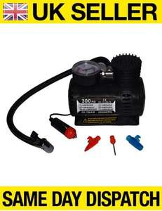 12V MINI COMPACT AIR COMPRESSOR 300 PSI CIGARETTE BIKE CAR VAN TYRE INFLATOR £5.20 delivered by universalgadgets ebay