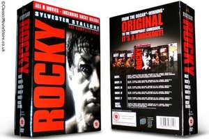 Rocky - The Complete Saga - DVD Boxset - £10 @ ASDA Direct
