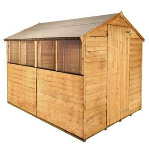Billyoh 8x6 Wooden Shed With Base £173.49 @ Garden Buildings Direct