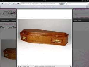 Save £100 on tradition coffin now £445 + vat  @ Coffin Company