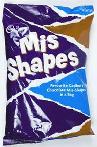 Cadbury's Mis-Shape Chocolates - 750gms of chocolates for £2.99 at all Cadbury Factory Outlets.  250 grammes of chocolates for a pound!