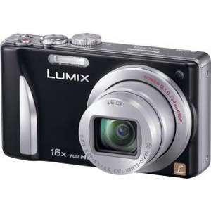 Panasonic TZ25 12MP, 16 x Superzoom Compact Camera Black with Full HD Video + 4GB SD Card £106.91 Delivered @ QVC