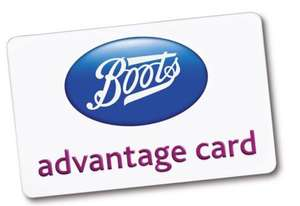 Apply for boots advantage card and u will get 100 points free