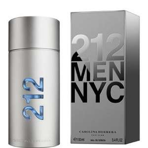 Carolina Herrera 212 Man - £19.05 off for 100ml bottle of eau de toilette spray - £31.95 @ Fragrance Direct