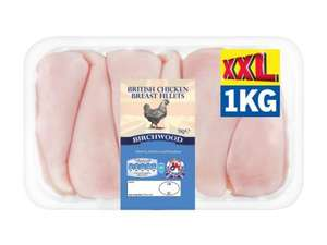 Chicken breast 1KG £5.99 @ Lidl (XXL Deal range)