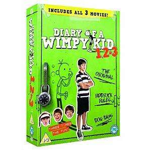 Diary Of A Wimpy Kid 1 - 3 - DVD Boxset for £11.00 delivered @ direct.asda.com