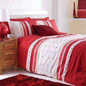 Chicago Red Double Duvet Set £7.99 at Argos with FREE Del