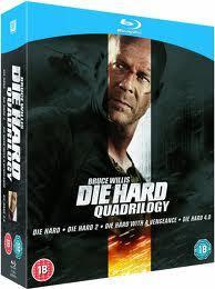 Sainsburys instore Die Hard Quad Blu-ray 10 GBP