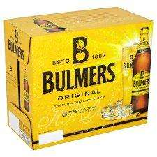 Bulmers Original or Pear Cider, 8 (yes 8) x 568ml Bottles - £5 at Tesco.