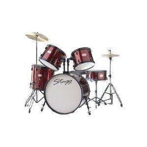 Rocket (by Stagg) 5 piece drum kit + cymbals - £180.40 @ Tesco and Amazon