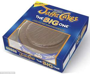GIANT Jaffa Cake 'The Big One' £7 @ Asda & Morrisons