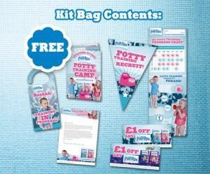 FREE Potty Training Camp Recruits Kit Bag